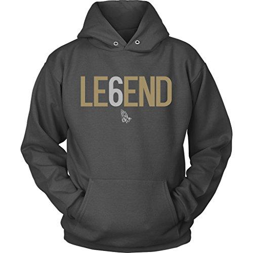 Legend Mens Sweatshirt - Drake Legend Six 6 OVO Toronto Hoodie Sweatshirt