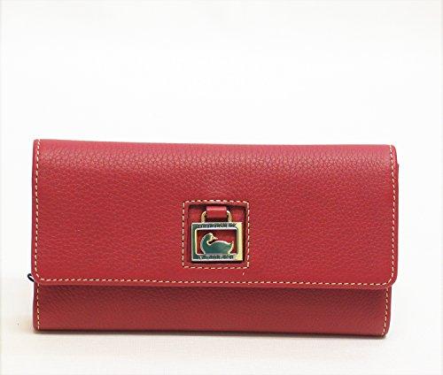 - NEW AUTHENTIC DOONEY & BOURKE Portofino Checkbook Organizer (Red)