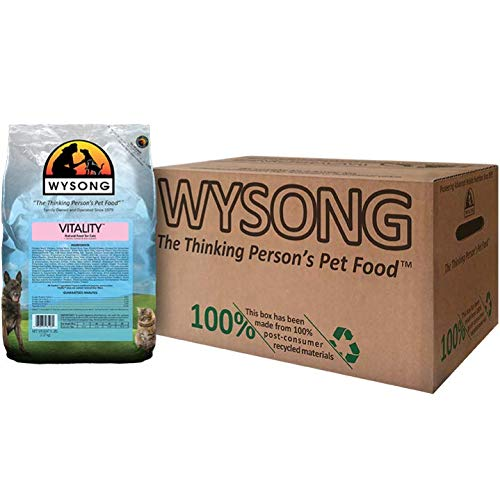 Wysong Vitality Adult Feline Formula Dry Diet Cat Food, Four- 5 Pound Bags