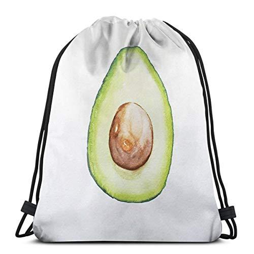 f4f05e02d195 Classic Avocado Unisex Drawstring Beam Port Bag,Fashion Gym Outdoor Sports  Portable Travel Backpack Dust Storage Shoulders Bags