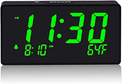 Digital Alarm Clock with Simple Operation