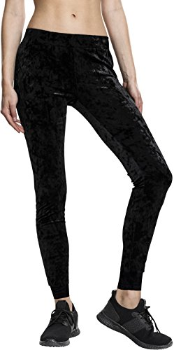 Urban Classics TB1734 Damen Ladies Velvet Leggings
