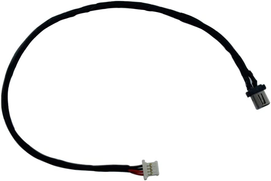 Rangale AC DC Power Jack Plug in Charging Port Socket Harness Cable Connector Compatible for Acer Aspire R5-431 R5-431T R5-471 R5-471T Sereis 50.G7TN5.005