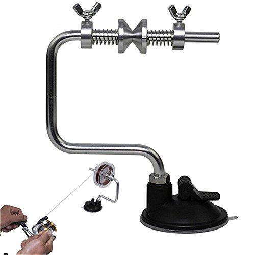 Hrph Leichte, tragbare Linie Tambour Spoolersystem Tackle Aluminium Spannkontrolle Fischen-Werkzeug-Zubehör