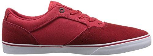 Emerica The Herman G6 Vulc, Scarpe da Skate da Uomo Red/White