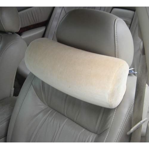 Care Apparel Industries Memory Foam Car Neck Pillow With Headrest Strap -...