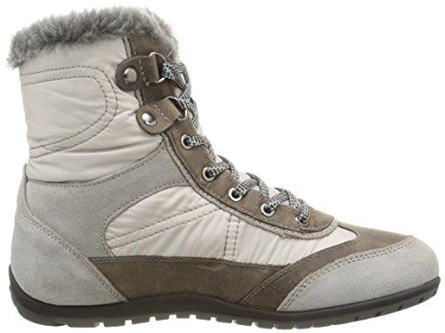 B Ankle Vega Women's New Grey Boot Amphibiox Geox D H6USn