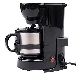 24V 24 Volt LKW Kaffeemaschine mit Isolierkanne und Permanentfilter, 24 Volt...