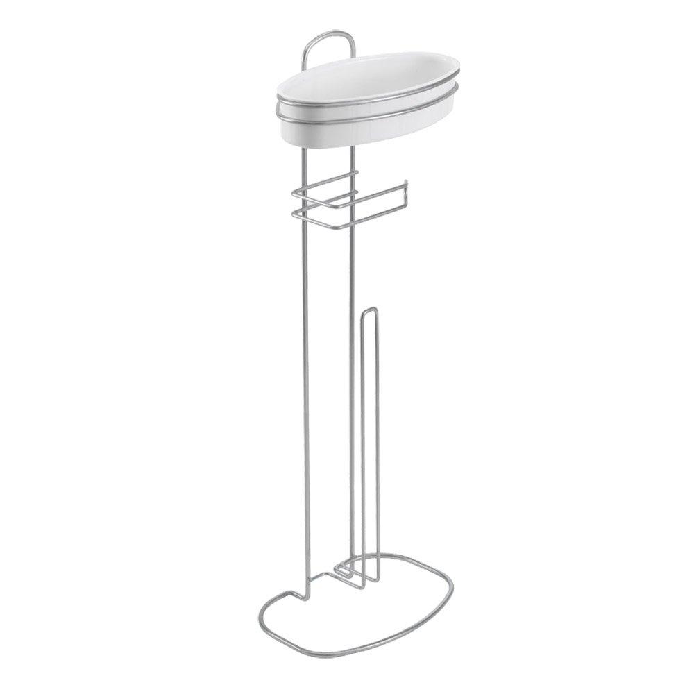 Metaltex 403720 Toilet Paper Holder Orbit, White 40.37.20