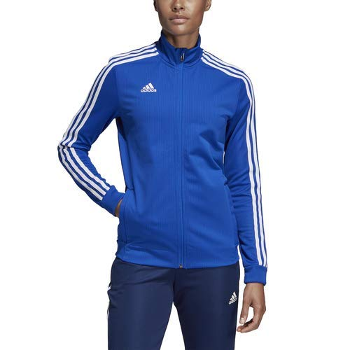 19929073db7 Amazon.com : adidas Tiro 19 Training Jacket - Women's Soccer XL Bold  Blue/Dark Blue/White : Sports & Outdoors