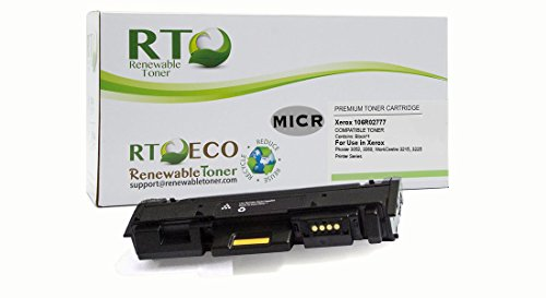 Renewable Toner Compatible MICR Toner Cartridge Replacement for Xerox 106R02777 Phaser 3260 WorkCentre 3215 3225