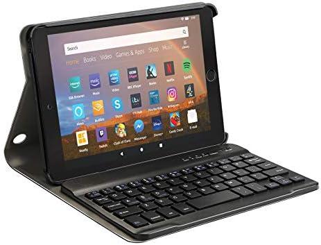 AGPTEK Keyboard Case for All-New Amazon Fire HD 8/8 Plus(tenth Generation, 2020 Release),with Detachable Wireless Bluetooth Keyboard