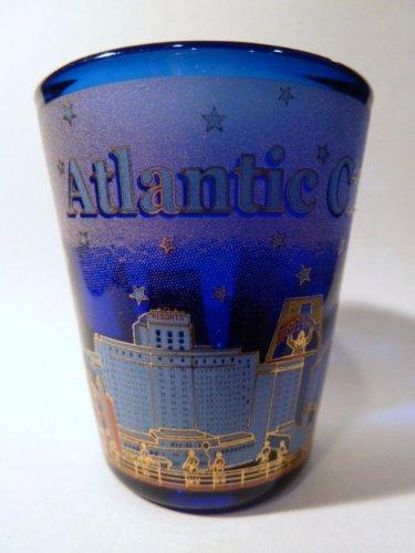 Atlantic Jersey (Atlantic City New Jersey Blue Shot Glass)
