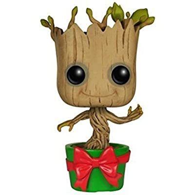 Funko POP Marvel: GOTG - Holiday Dancing Groot Action Figure: Funko Pop! Marvel:: Toys & Games