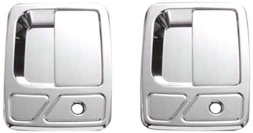 All Sales 510 Polished Billet Aluminum Door Handle and Bucket (Billet Door Bucket)
