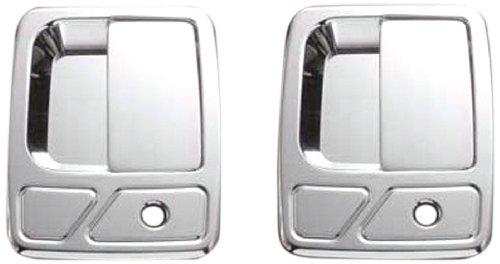 (All Sales 510C Chrome Billet Aluminum Door Handle and Bucket)