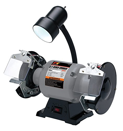 Performance Tool Wilmar W50001 1/2 HP Motor 6-Inch Bench Grinder With Light
