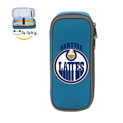 Oilers Fashion Big Capacity Pencil Pen Case Box Holder Bag With DIY Design