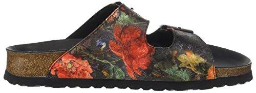Papillio Multicolore A Arizona Bouquet multicolore Aperta Floral Donna Sandali Punta rArxT