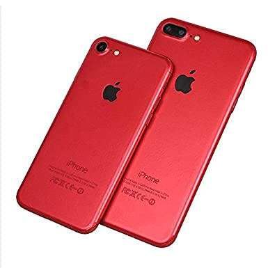 iPhone 7 or IPhone 7 Plus RED FULL BODY VINYL DECAL WRAP KIT STICKER SKIN  COVER 3d146c679