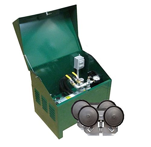 EasyPro Sentinel 1/4 HP Rotary Vane Pond Aeration System Aerates UpTo 2 Acres