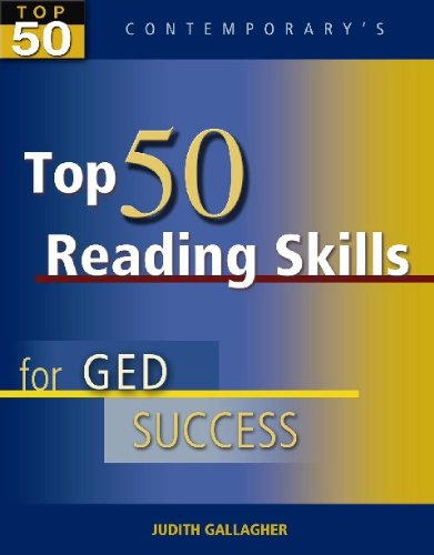 Top 50 Reading Skills for GED Success, Student Text Only (GED Calculators)