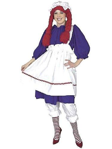 Raggedy Anne Costume 1X