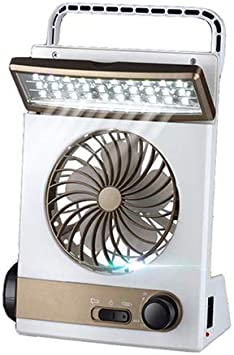 Ventilador solar 3 en 1 con luz de camping Ventilador para camping multifuncional con lámpara de mesa LED de atención ocular Linterna Ventilador de luz solar: Amazon.es: Bricolaje y herramientas