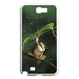 Frog Customized Cover Case for Samsung Galaxy Note 2 N7100,custom phone case case530801