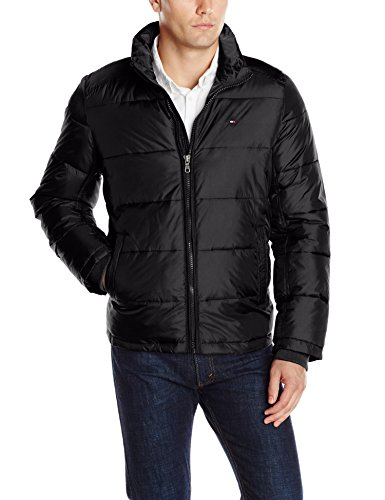 9989382e Tommy Hilfiger Men's Big-Tall Classic Puffer Jacket - Buy Online in ...