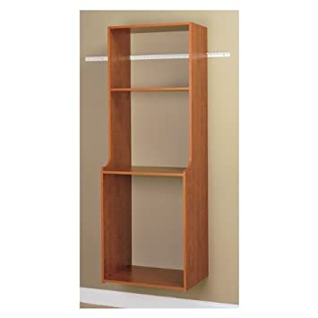Easy Track RV2072-C Closet Hanging Hutch Kit, Cherry