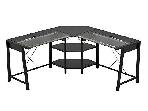 Z-Line Designs Vance L Desk, Black by Z-Line Designs
