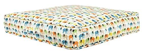 Animal Planet Square Gusset Elephants, Cream, 24