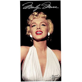 42799e68d8f07 Image Unavailable. Image not available for. Color: Marilyn Monroe Legend Beach  Towel