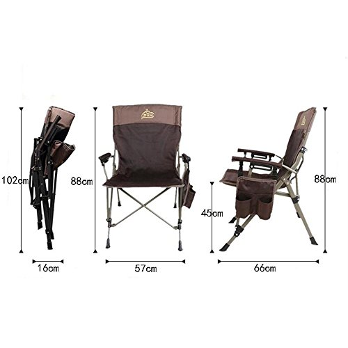 Jack Mall Chaise Pliante Portable En Plein Air De Pche Sketch Camping Avec Accoudoir
