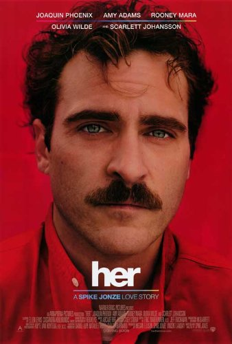 Her Movie Poster - Her (2013) 27 x 40 Movie Poster Style A