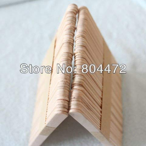 Moonnight Store Ice Cream Stick size 114102 mm 1000 pcs/lot popsicle Stick for DIY ice cream, Wooden sticks for craft purposes by Moonnight Store (Image #3)