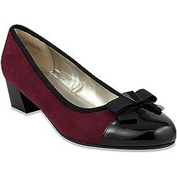 London Fog Durlap Dress Shoe Wine 8.5