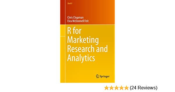 R For Marketing Research and Analytics