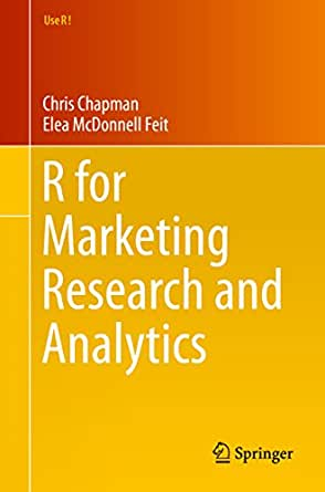 R for marketing research and analytics book pdf