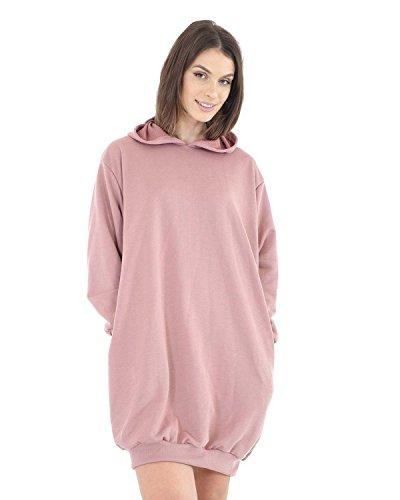 Fatal Fashion - Sudadera con capucha - para mujer rosa (Dusty)