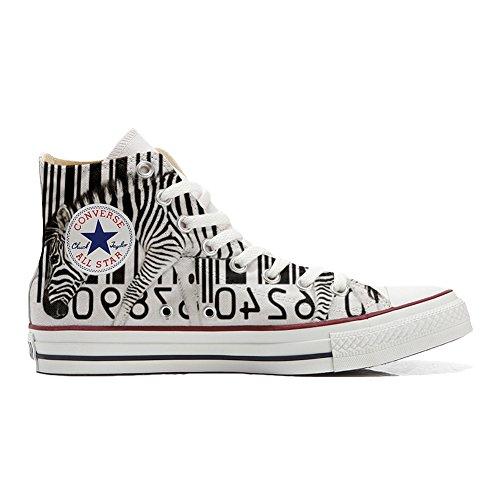 Barcode Personalizados Zapatos Star producto Converse All Handmade Zebra qpFgWwHx