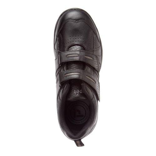 Propet Womens Balance Bar Strap Sneakers Nero / Grigio