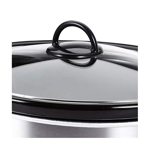 Bergner-Elite-Stainless-Steel-Slow-Cooker-280W-45-Liter-Grey