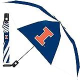 NCAA McArthur Illinois Fighting Illini 42'' Folding Umbrella