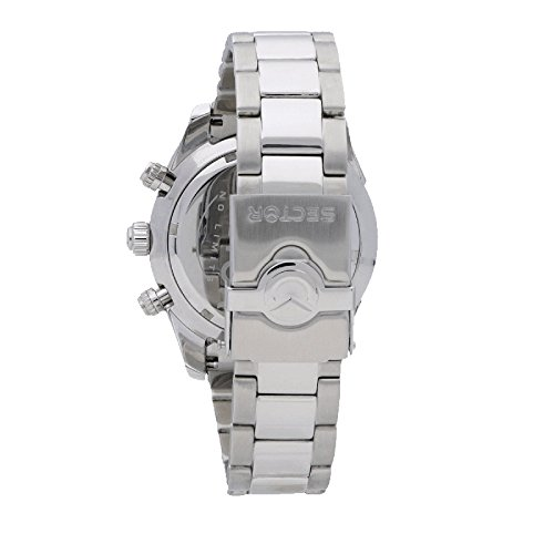 Sektor män kronograf kvartsur med rostfritt stål armband R3273794003