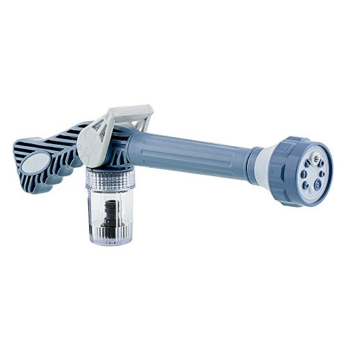 ETGtek(TM) 1pcs Multifunktions-8 in 1 Turbo-Spritzpistole Auto Garten Sprayer Jet Wasserkanone