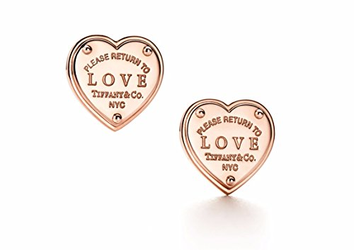 Tiffany Heart Bag (No.1 Silver Return to Heart Love Earrings Silver Made Rose Gold Plated.)