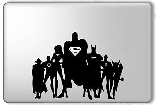 Justice League Superman Batman Superhero - Apple Macbook Lap