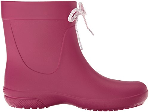 Crocs Berry Pink Women Freesail Rain Shorty Boots 77qrY